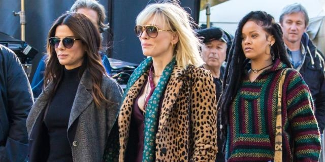 A first official look at the badass cast of Ocean's Eight in ... - colourfulrebel.com