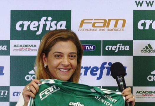 Leila Pereira é a empresária dona das patrocinadoras