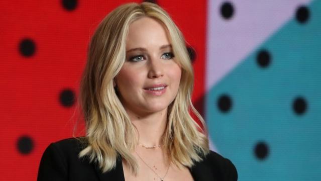 Jennifer Lawrence is single and dateless ... pic foxnews.com