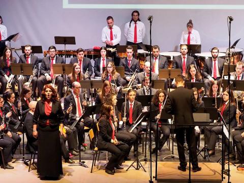 Momento do Concerto (foto de Johnny Silva)