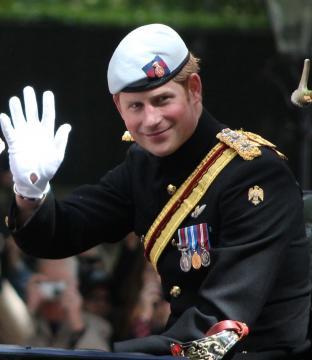 Prince Harry announces engagement ( photo wikipedia author Surtsicna)