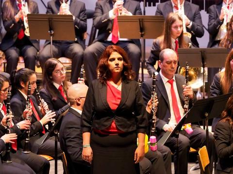 Soprano Teresa Nunes (foto de Johnny Silva)