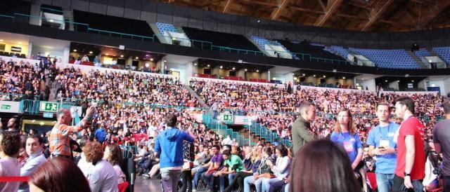 A Altice Arena começa a encher para o Web Summit