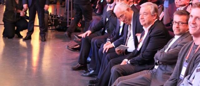 António Costa e António Guterres também discursaram