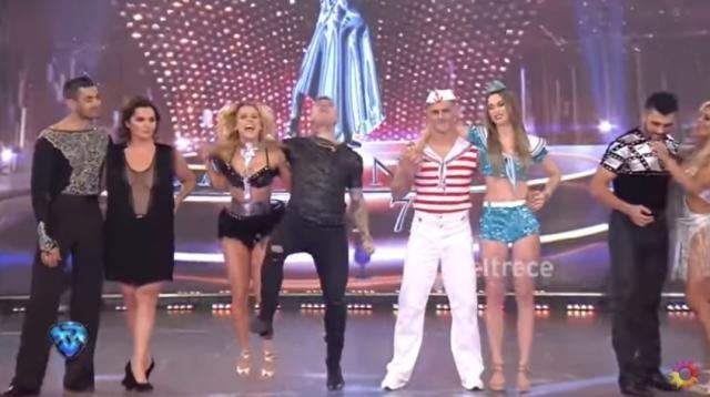 El último salvado por el jurado fue 'El Polaco' y su bailarina, Solange