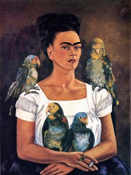 Frida Kahlo. Libby Rosof Flickr