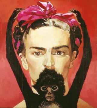 Frida Kahlo. Maria de Oro -Flickr