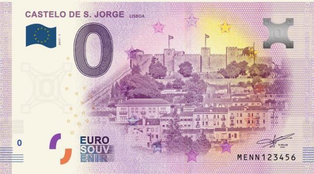 A primeira nota de zero euros portuguesa