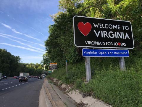 Virginia is open for business. - [Image via Famartin/Wikimedia]