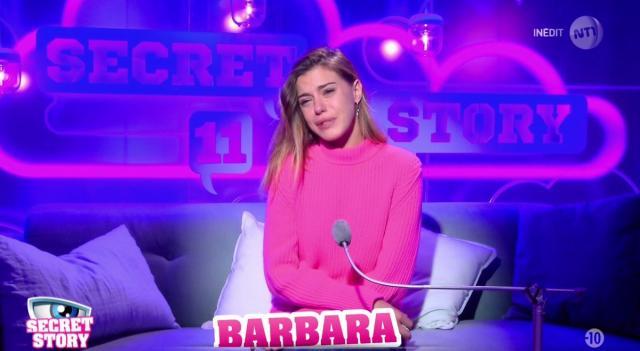 Cassandre (Secret Story 11) révèle à Barbara que sa sextape a fuité sur le net !