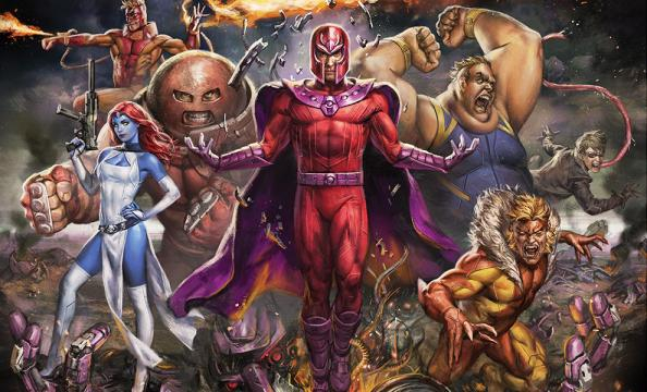 Magneto & the Brotherhood of Mutants Premium Art Print by Sideshow ... - collectorverse.com