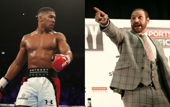 Tyson Fury and Anthony Joshua have been exchanging insults on ... - irishnews.com