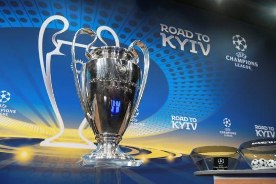 A orelhuda, troféu mais cobiçado do futebol europeu.