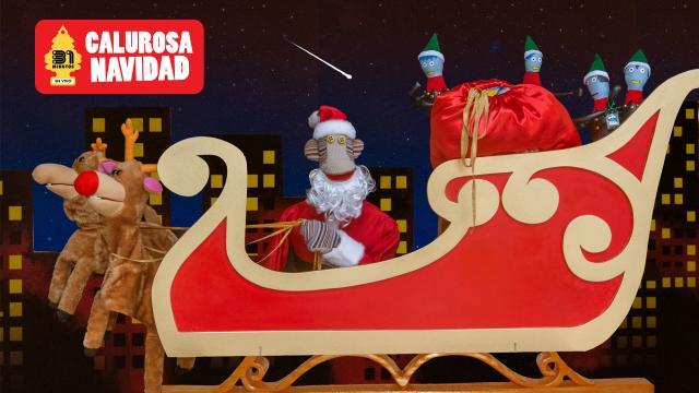 El espectáculo Calurosa Navidad nació como un especial de TV emitido en 2003.
