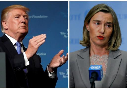 Mogherini e Trump, scontro su Gerusalemme