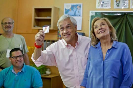 The Latest: Pinera thanks supporters for win in Chile vote - San ... - mysanantonio.com