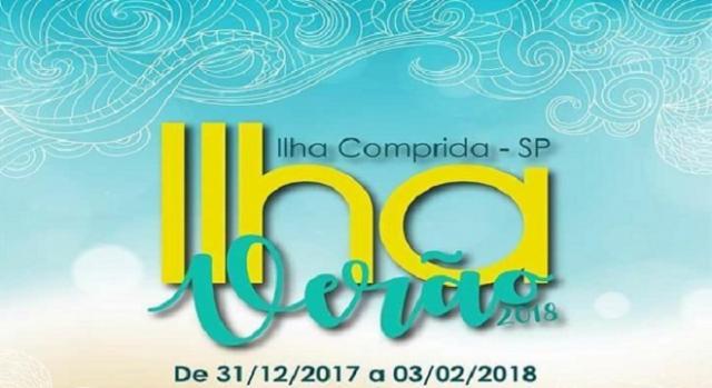 Ilha Verão 2018 terá shows de 31 de dezembro a 3 de fevereiro
