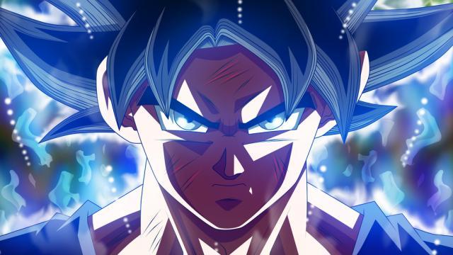 Goku utiliza el ultra instinto (Migatte no Gokui, Doctrina egoísta)