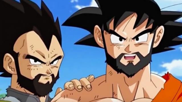 Goku y Vegeta se unen a la tendencia 'hipster' y lucen sus barbas ... - gonzoo.com