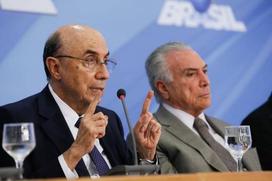 Henrique Meirelles caiu no conceito de Michel Temer pós fala contra PSDB