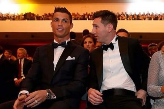 La reacción de Messi al Balón de Oro de Cristiano- laprensa.hn