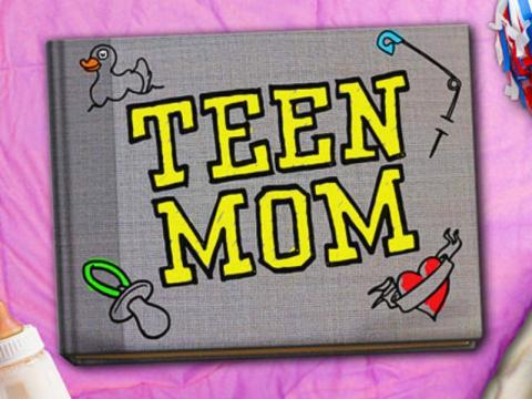 The 'Teen Mom' show logo. [Photo via MTV]