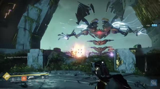 A screenshot from 'Destiny 2's' 'Curse of Osiris' - YouTube/HarryNinetyFour