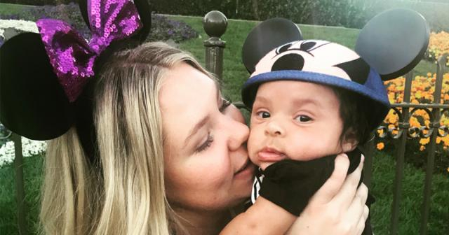 Kailyn Lowry's Baby Boy Lux Visits Disneyland for the First Time ...Kailyn Lowry   Instagram