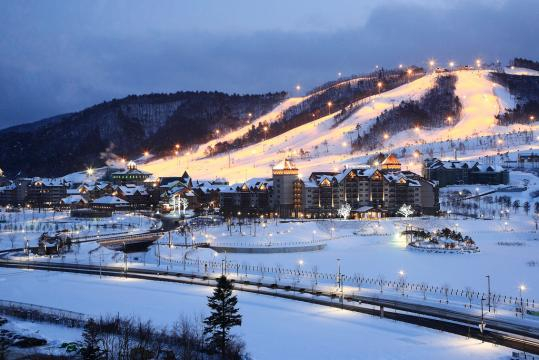 PyeongChang Winter Olympics in South Korea. - [Image via Korea.net on Flickr.com]