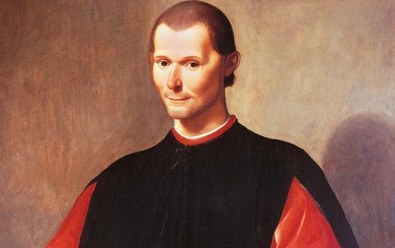 Retrato de Nicolás Maquiavelo, Public Domain.