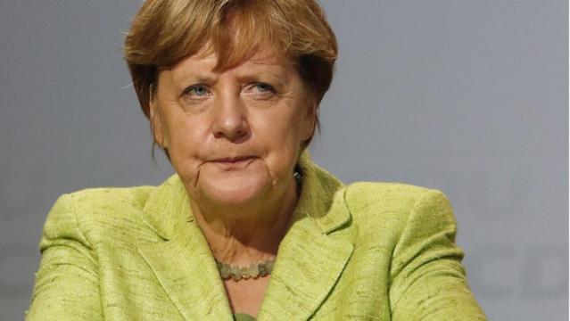 Angela Merkel auf Wahlkampftour in Torgau und Finsterwalde ... - bild.de
