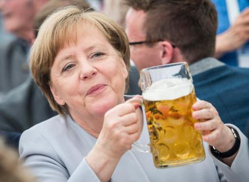 Laughable for Angela Merkel to preach on Nato's 'reliability ... - thesun.co.uk