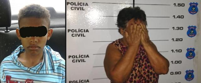Mãe de 66 anos fica presa por ter batido em filho de 13 anos, que furtou celular