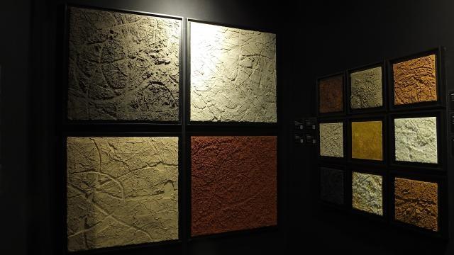Philippe gaspard et la materiography for Salon art contemporain paris