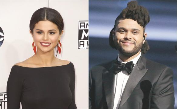 Selena Gómez y The Weeknd enamorados