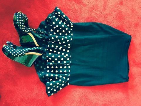 Black and White Polka Dot Wedges and Skirt (Image credit: Mirjana Marjanovic)