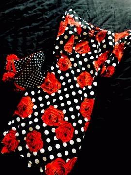 Patterned Polka Dot Dress and Shoes (Image credit: Mirjana Marjanovic)