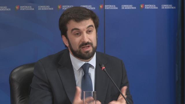 Ministro da Educação, Tiago Brandão Rodrigues, no final da reunião do Conselho de Ministros