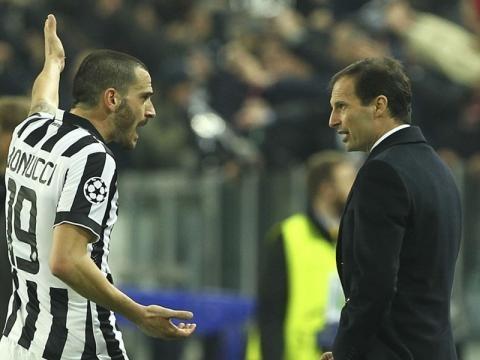 Juventus bonucci allegri ecco perch qualcosa non torna for Discutere it