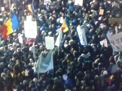 români uniți în crez - echitate și dreptate socială, în fața guvernului