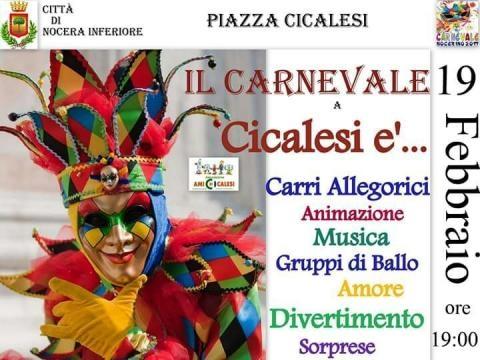 IV Edizione del Carnevale di Cicalesi, (Ph. Imma Giordano, Presidente Associazione