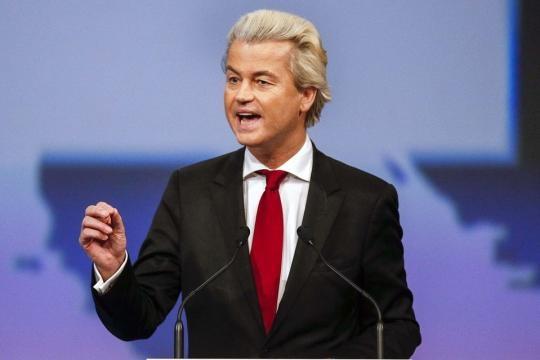 This is Geert Wilders - the anti-Islam, anti-EU leader