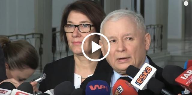 Kaczyński mocno podsumował działania szefa Rady Europejskiej.