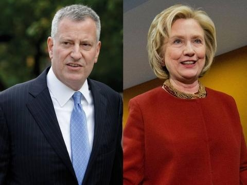 Bill de Blasio says Clinton does not need to disclose transcripts ... - crainsnewyork.com