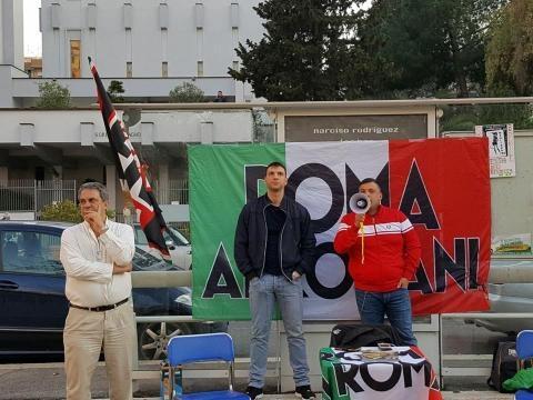 L'intervento di Giuliano Castellino portavoce di Roma ai Romani