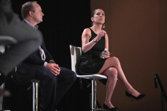 Ana Kasparian with The Young Turks on new TSA pat down procedures / Gage Skidmore, Flickr CC BY-SA 2.0
