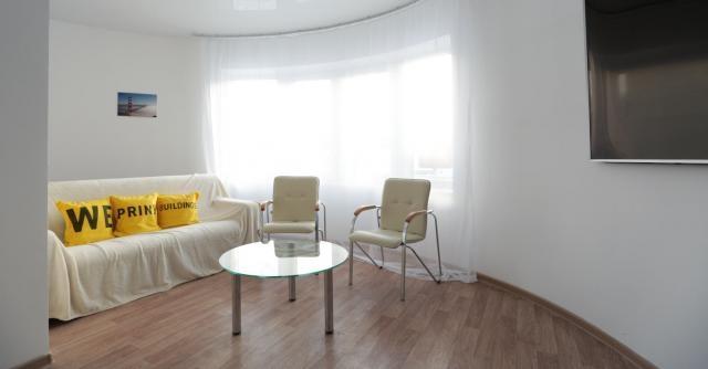 Die Möblierung dürfte durch die runden Wände etwas schwieriger werden - Quelle: Apis Cor