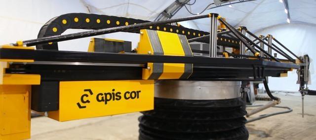 Ein mechanischer Maurer - 3D-Drucker für den Hausbau - Quelle: Apis Cor