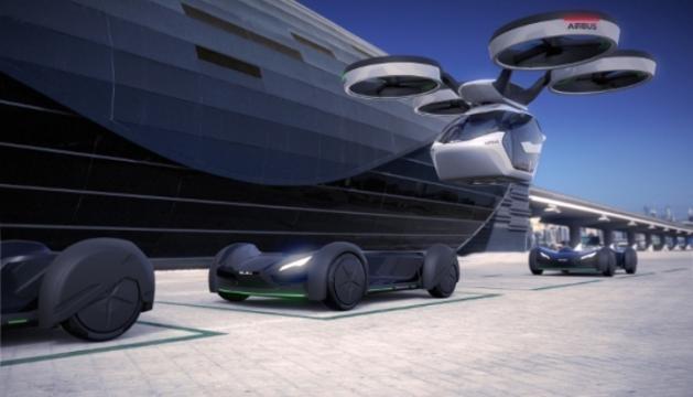 Mobilitate urbană futuristă: Pop.Up - vechiculul viitorului Sursa: Webnews