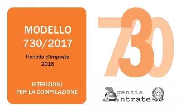 730 2017 istruzioni download pdf for Scadenza presentazione 730 precompilato